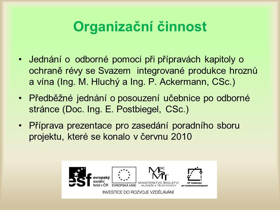 Organizační činnost