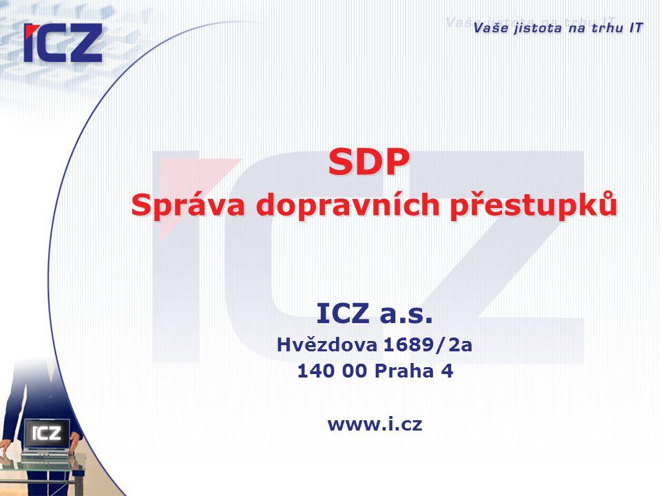 SDP Správa dopravních přestupků