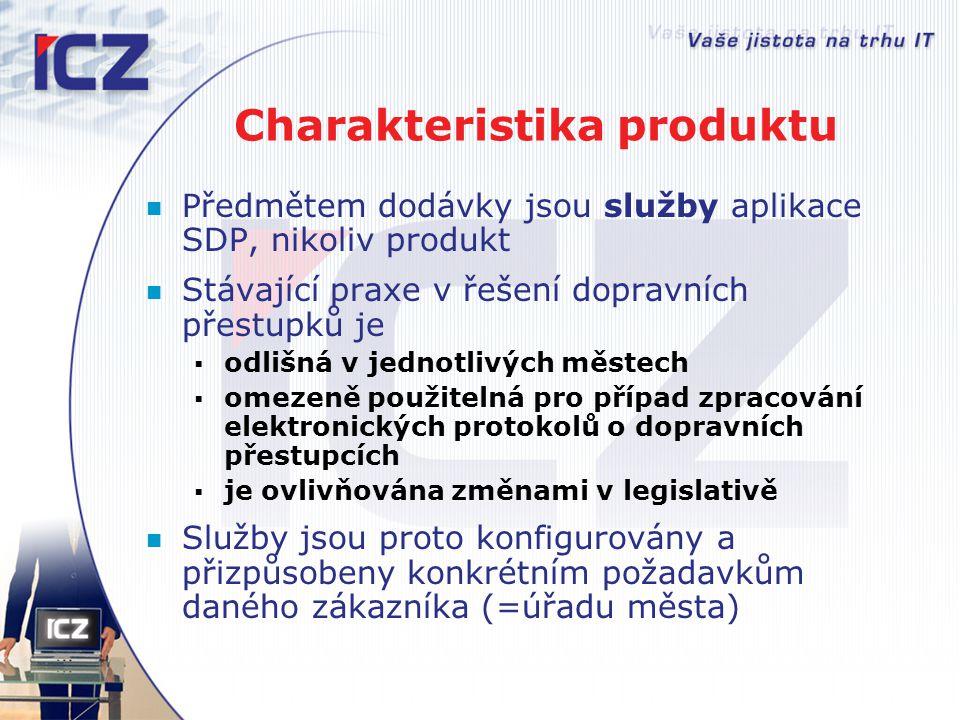 Charakteristika produktu