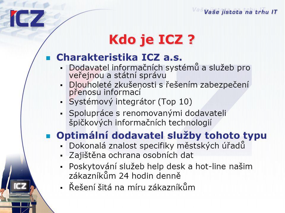 Kdo je ICZ Charakteristika ICZ a.s.