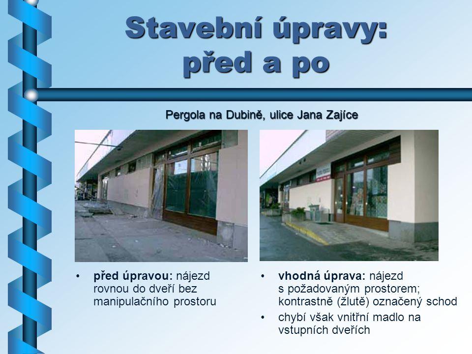 Stavební úpravy: před a po