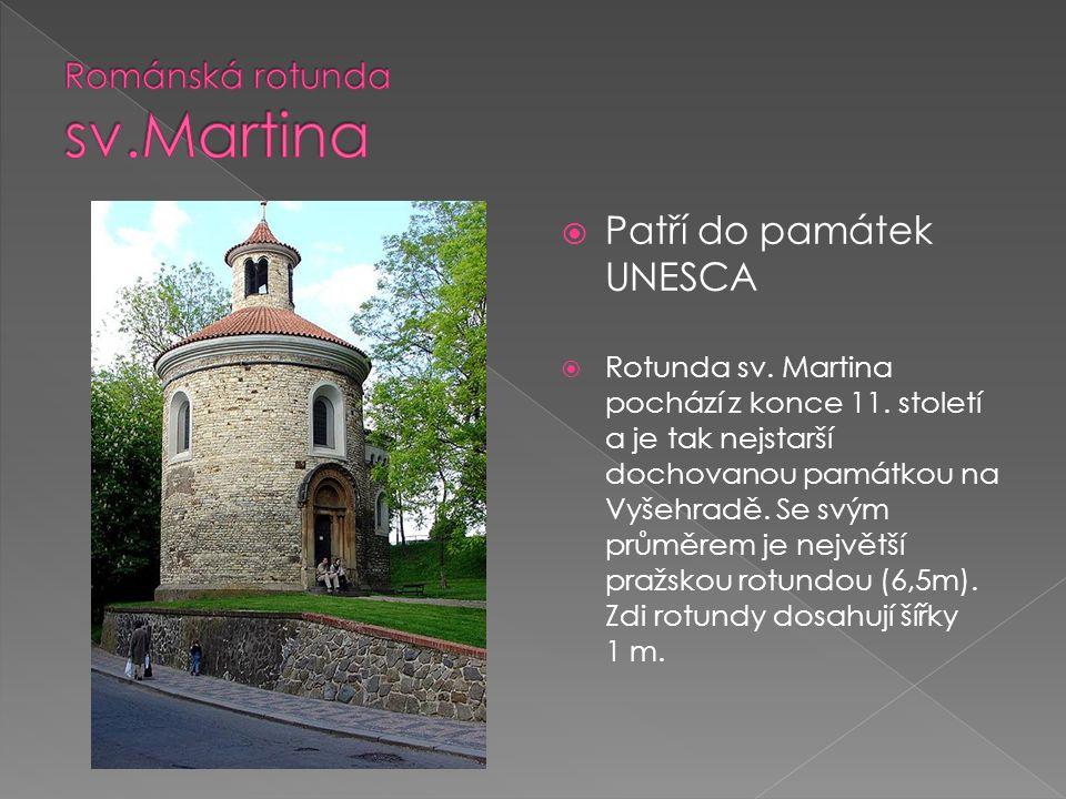 Románská rotunda sv.Martina