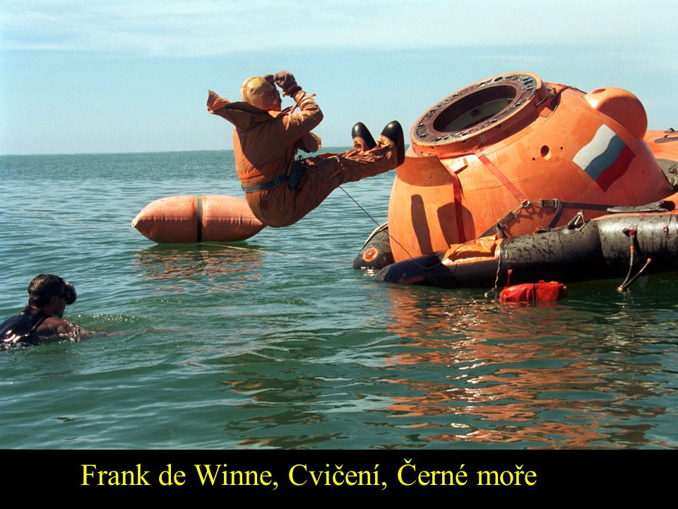 Frank de Winne, Cvičení, Černé moře