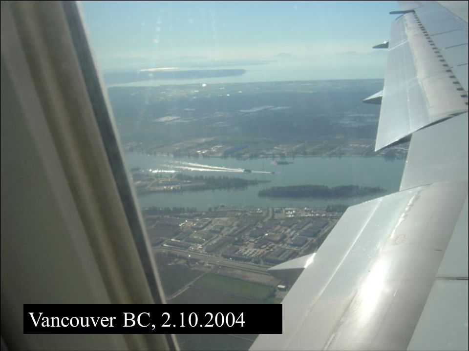 Vancouver BC, 2.10.2004