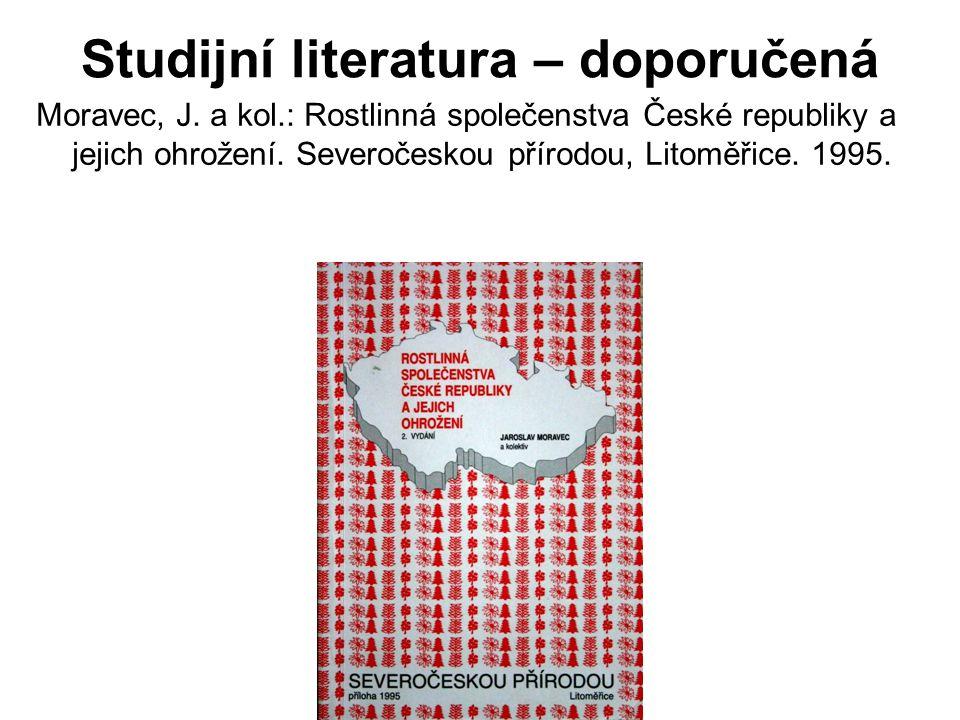 Studijní literatura – doporučená