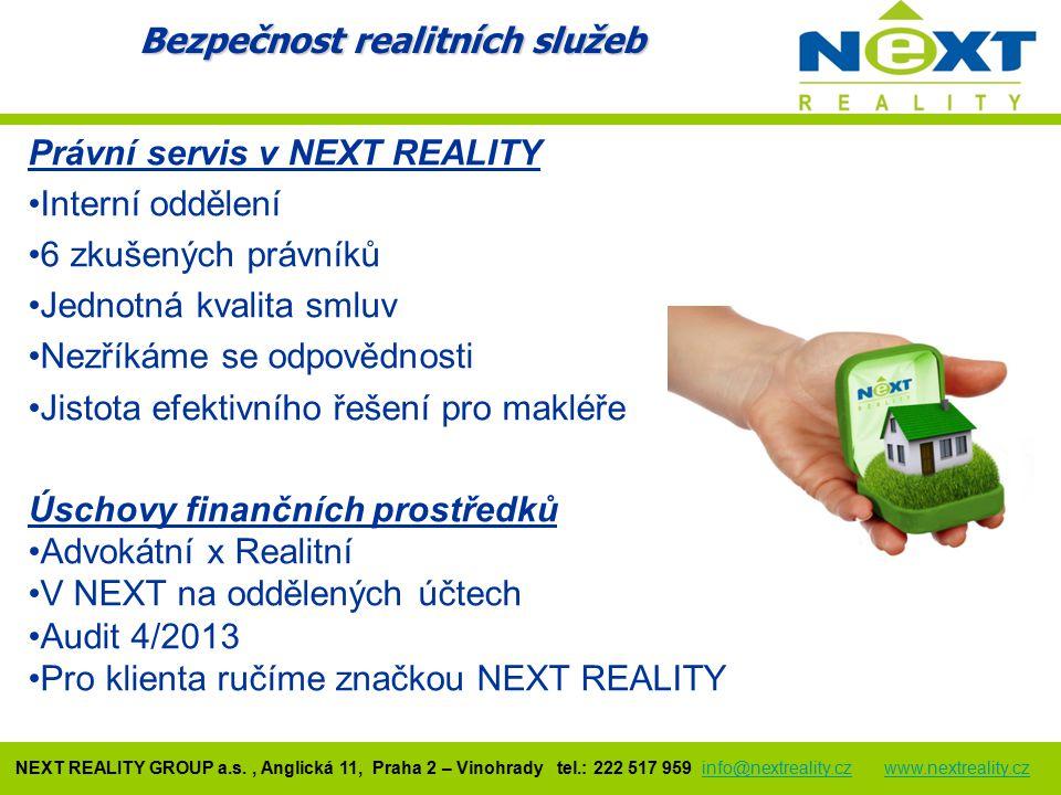 Bezpečnost realitních služeb