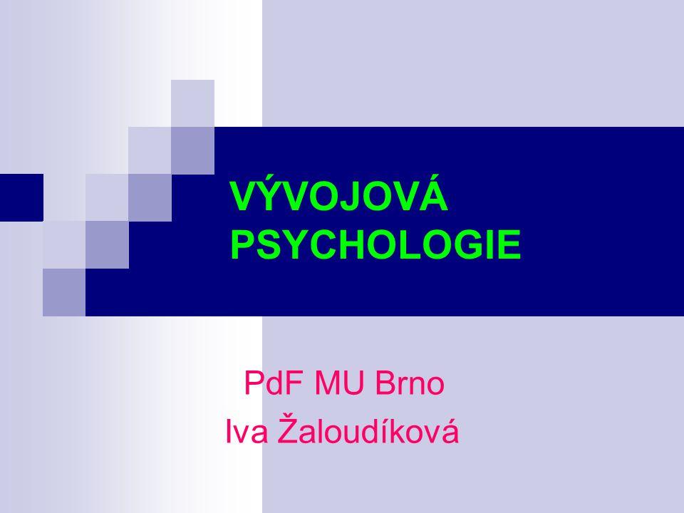 PdF MU Brno Iva Žaloudíková