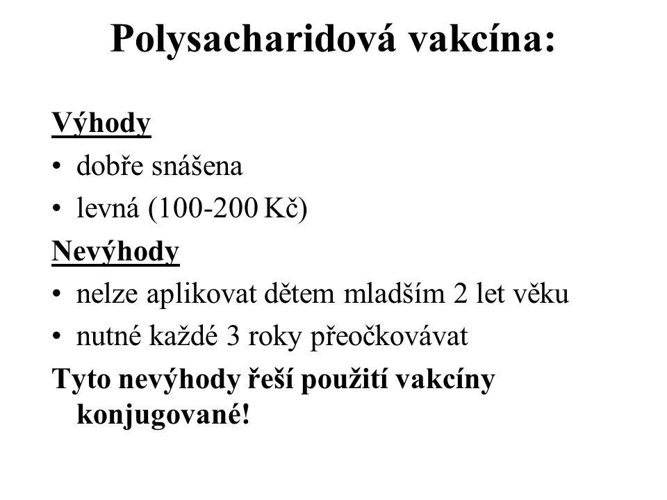 Polysacharidová vakcína: