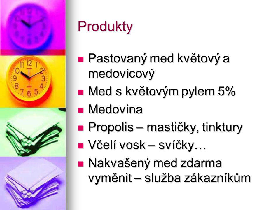 Produkty Pastovaný med květový a medovicový Med s květovým pylem 5%
