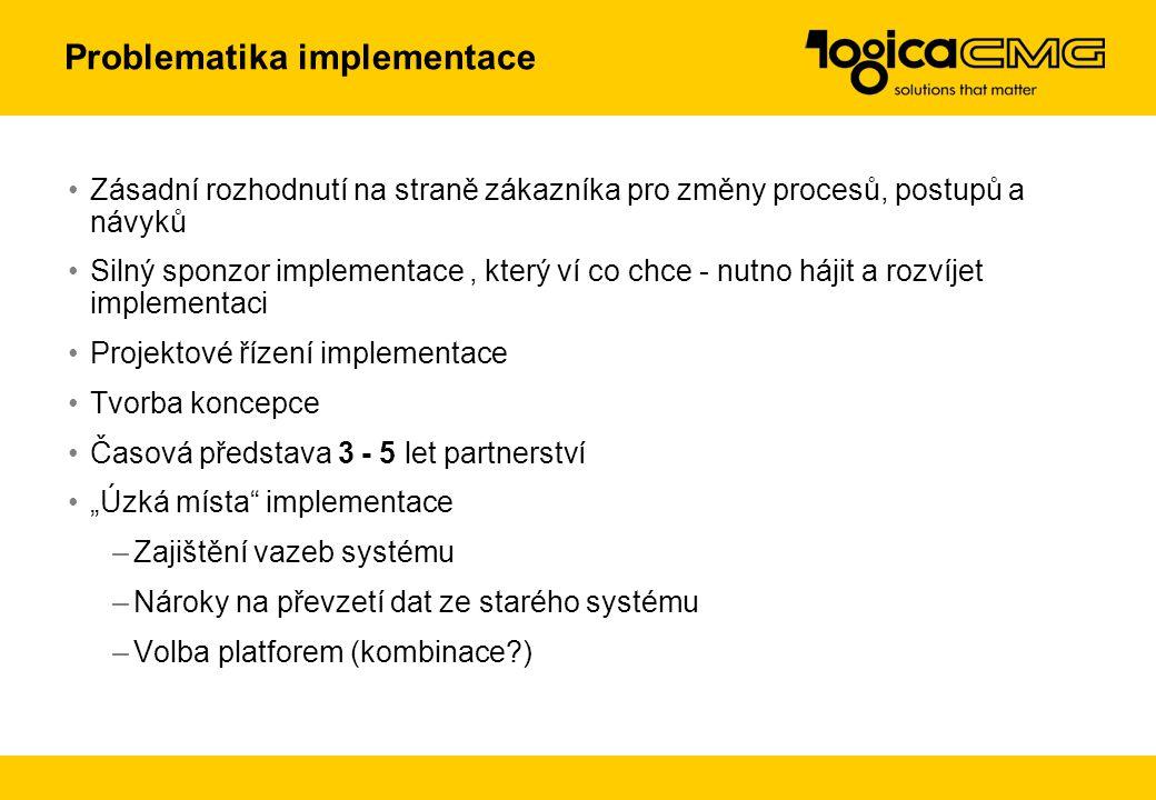 Problematika implementace