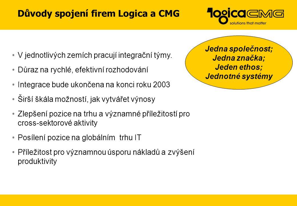 Důvody spojení firem Logica a CMG