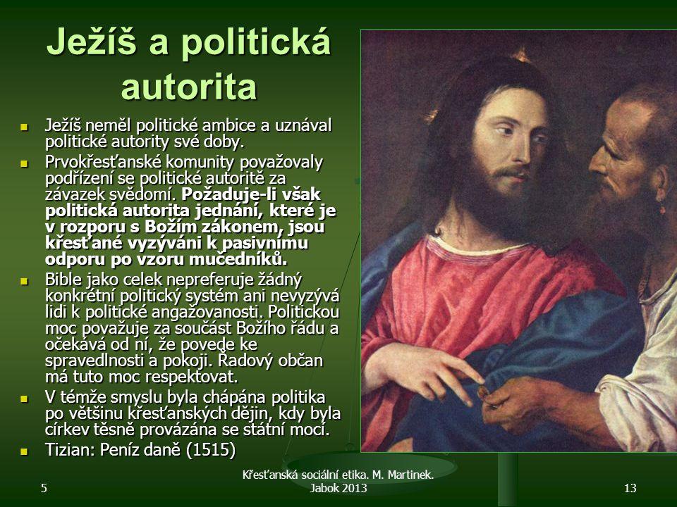 Ježíš a politická autorita
