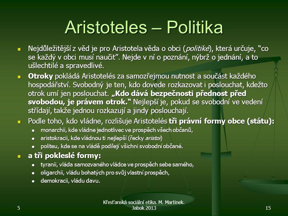 Aristoteles – Politika