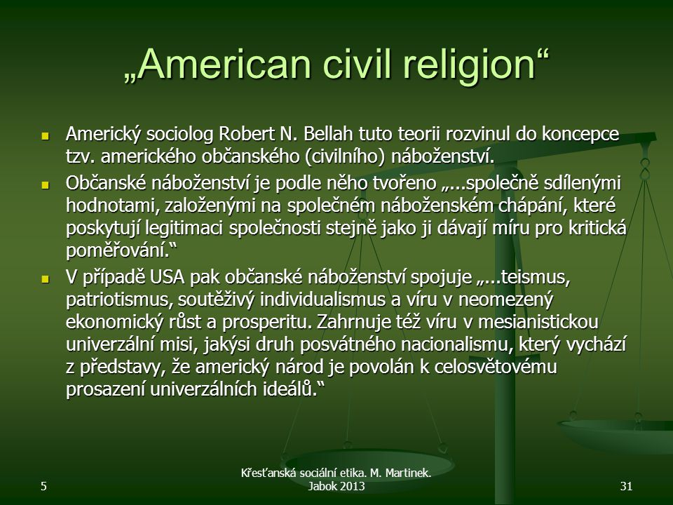 """American civil religion"