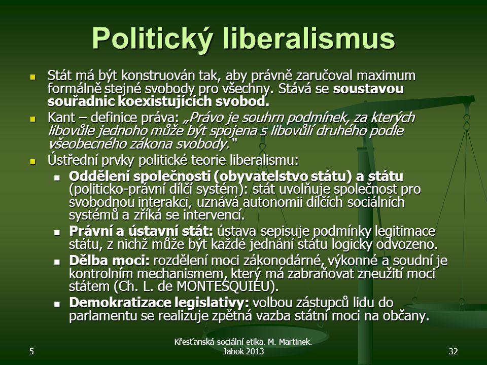 Politický liberalismus