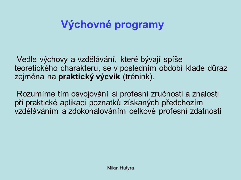 Výchovné programy