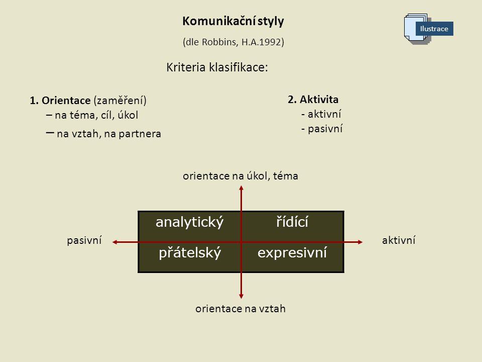 Kriteria klasifikace: