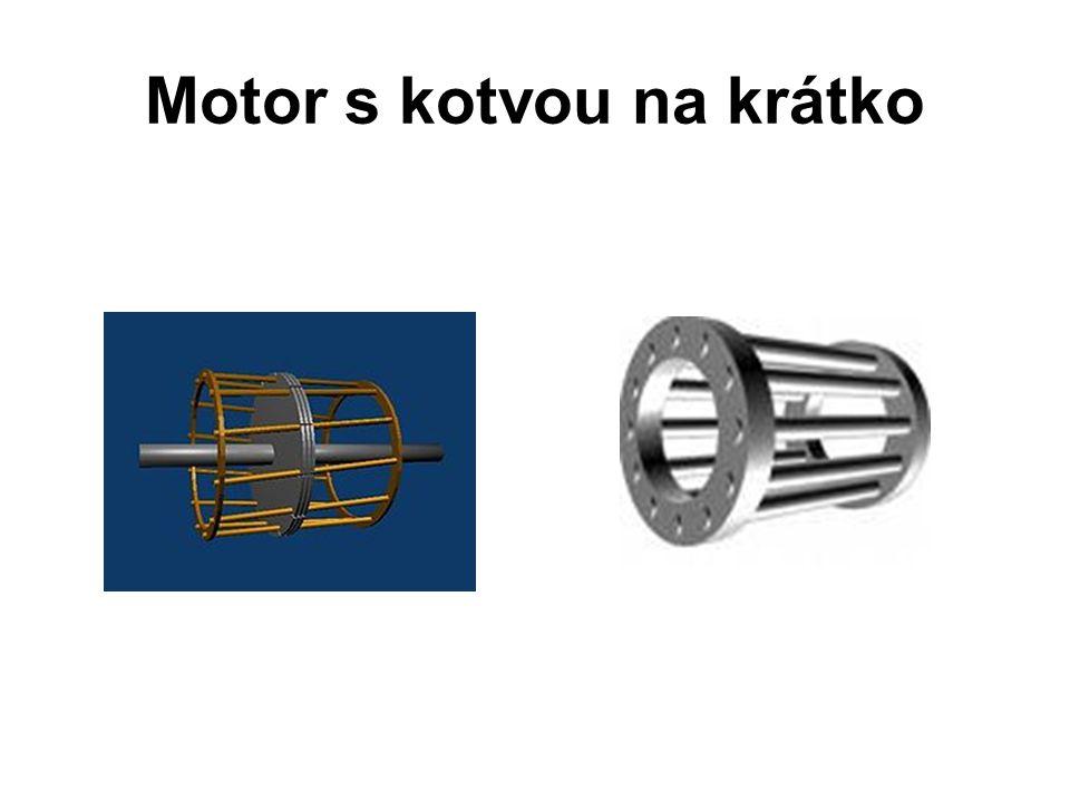 Motor s kotvou na krátko
