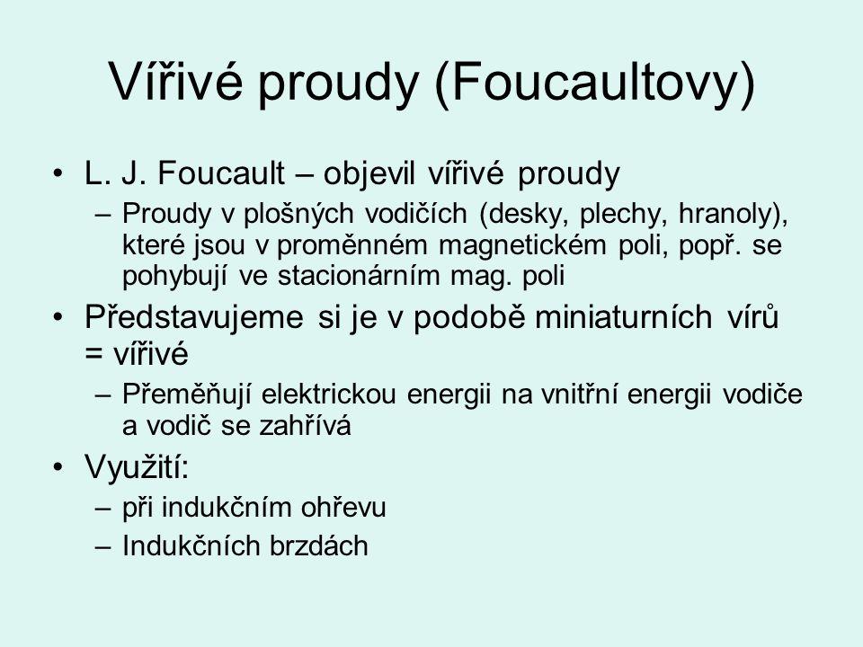Vířivé proudy (Foucaultovy)