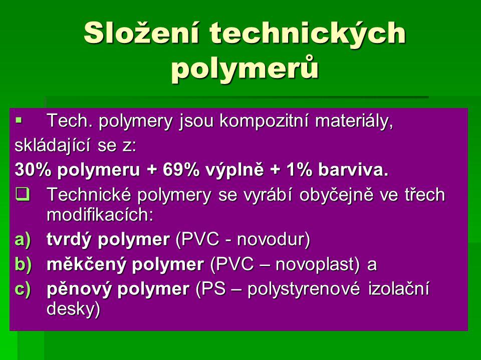 Složení technických polymerů