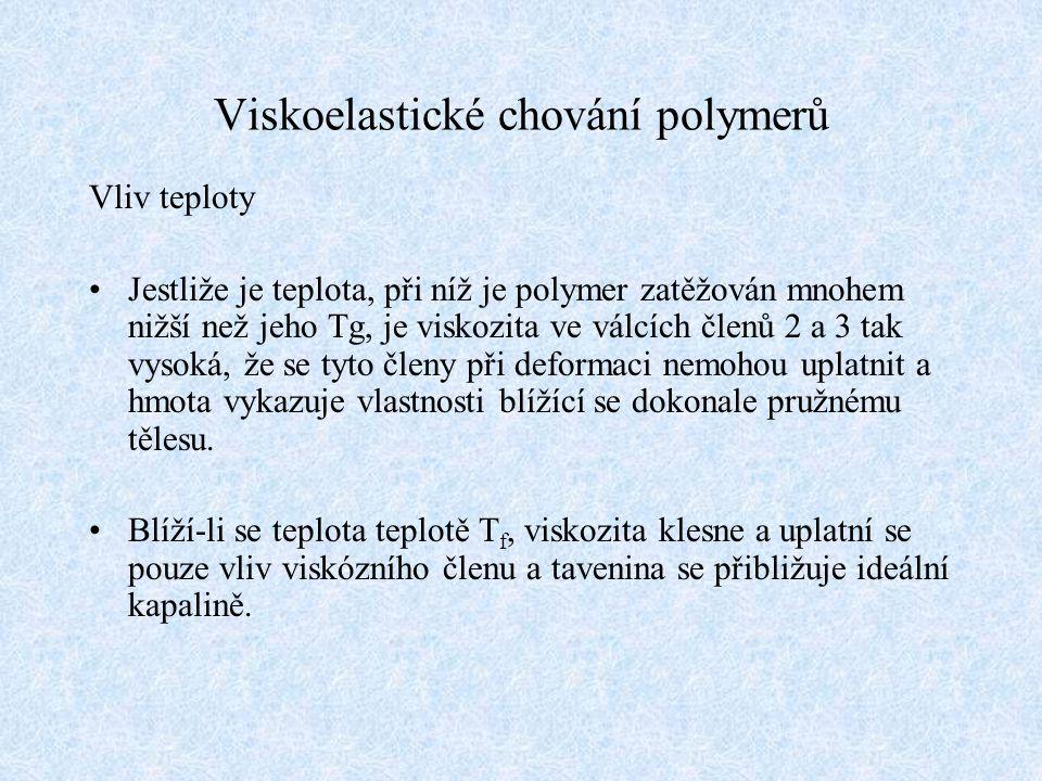Viskoelastické chování polymerů