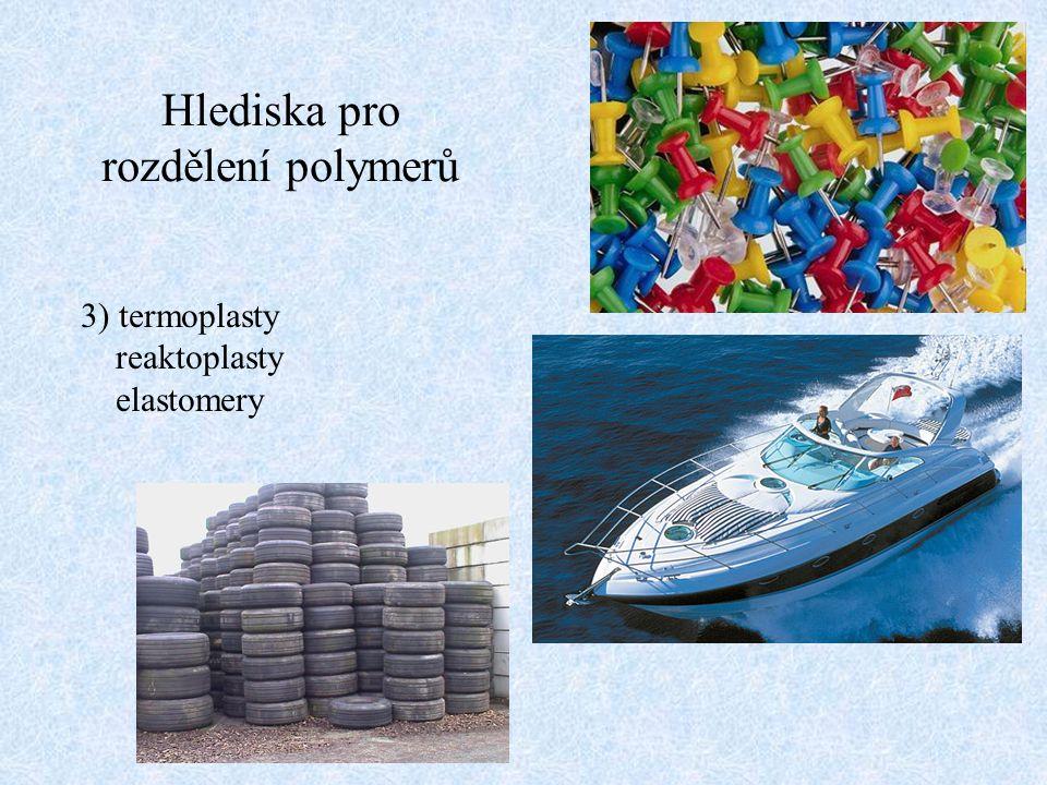 Hlediska pro rozdělení polymerů