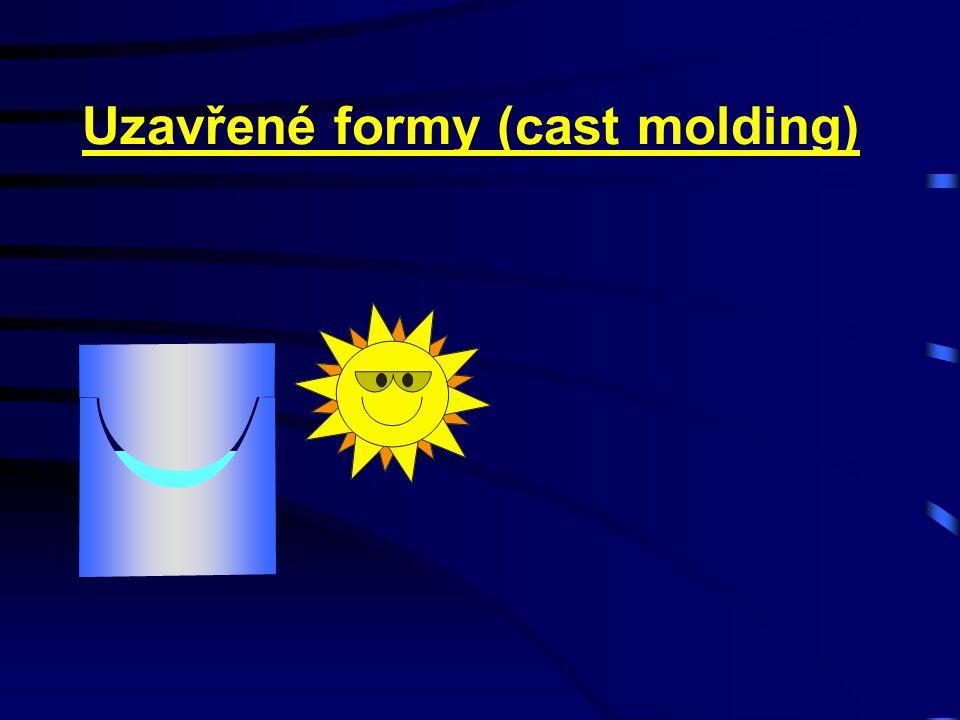 Uzavřené formy (cast molding)