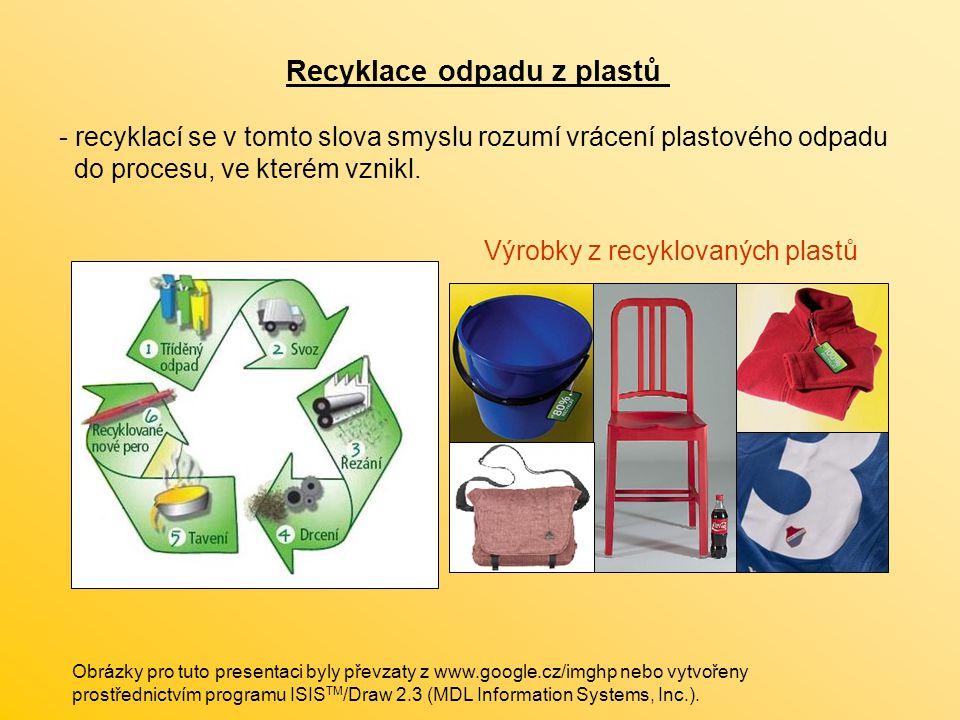 Recyklace odpadu z plastů