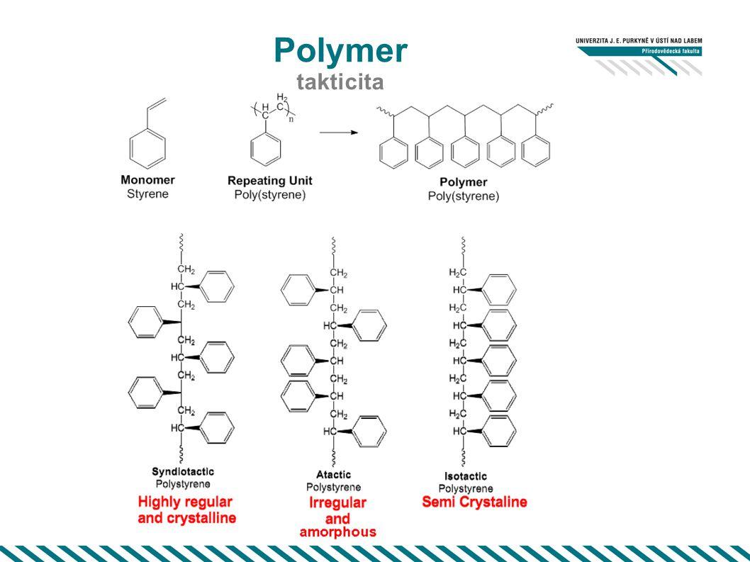 Polymer takticita