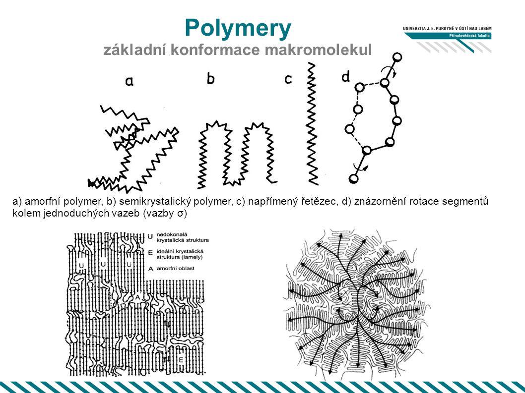 základní konformace makromolekul