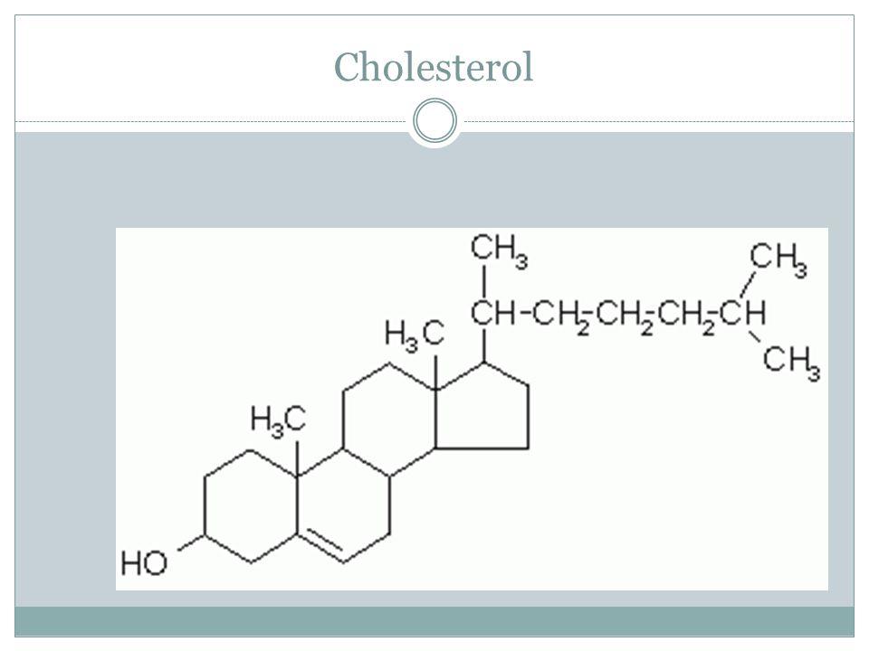 Cholesterol Vzorec pro zajímavost