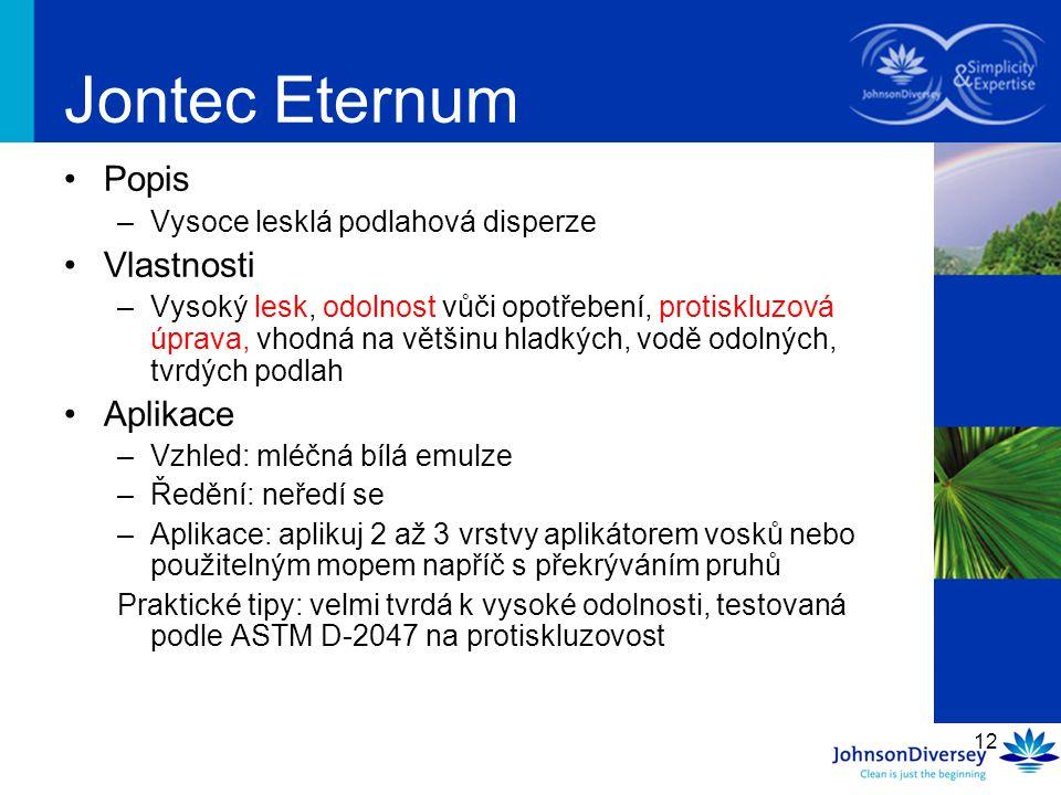 Jontec Eternum Popis Vlastnosti Aplikace