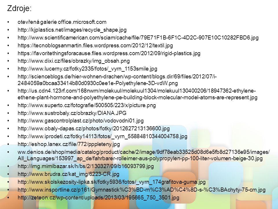 Zdroje: otevřená galerie office.microsoft.com
