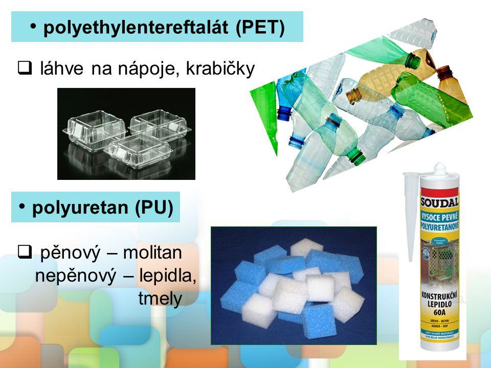 polyethylentereftalát (PET)