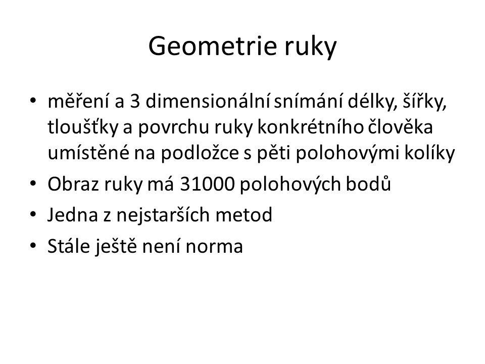 Geometrie ruky