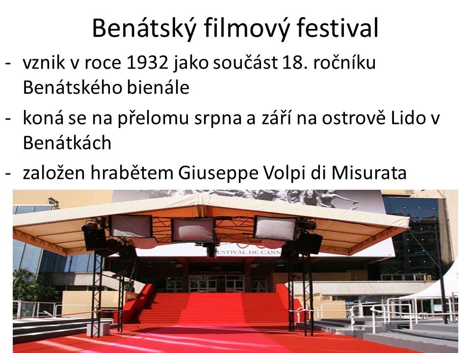 Benátský filmový festival