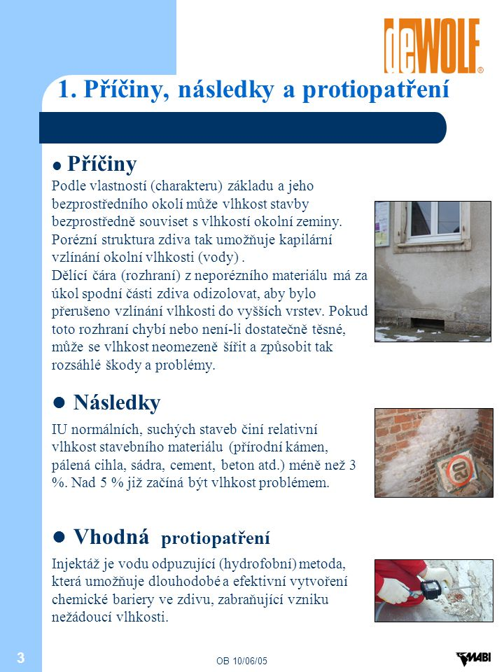 1. Příčiny, následky a protiopatření