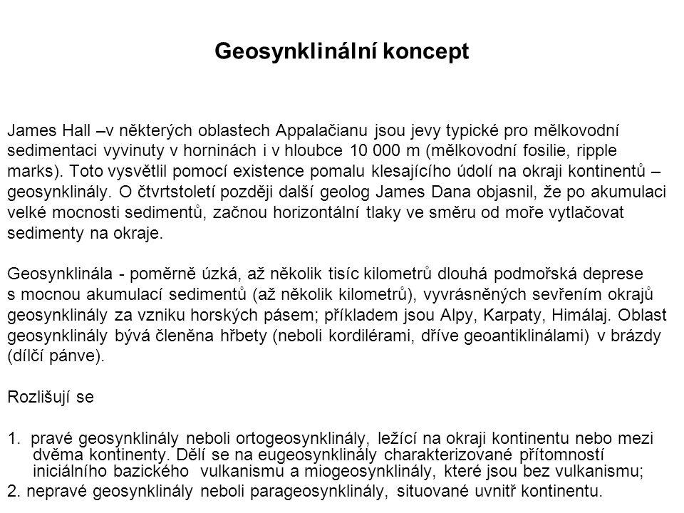 Geosynklinální koncept