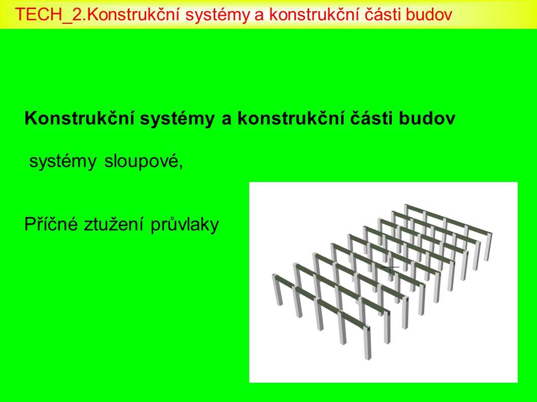 TECH_2.Konstrukční systémy a konstrukční části budov