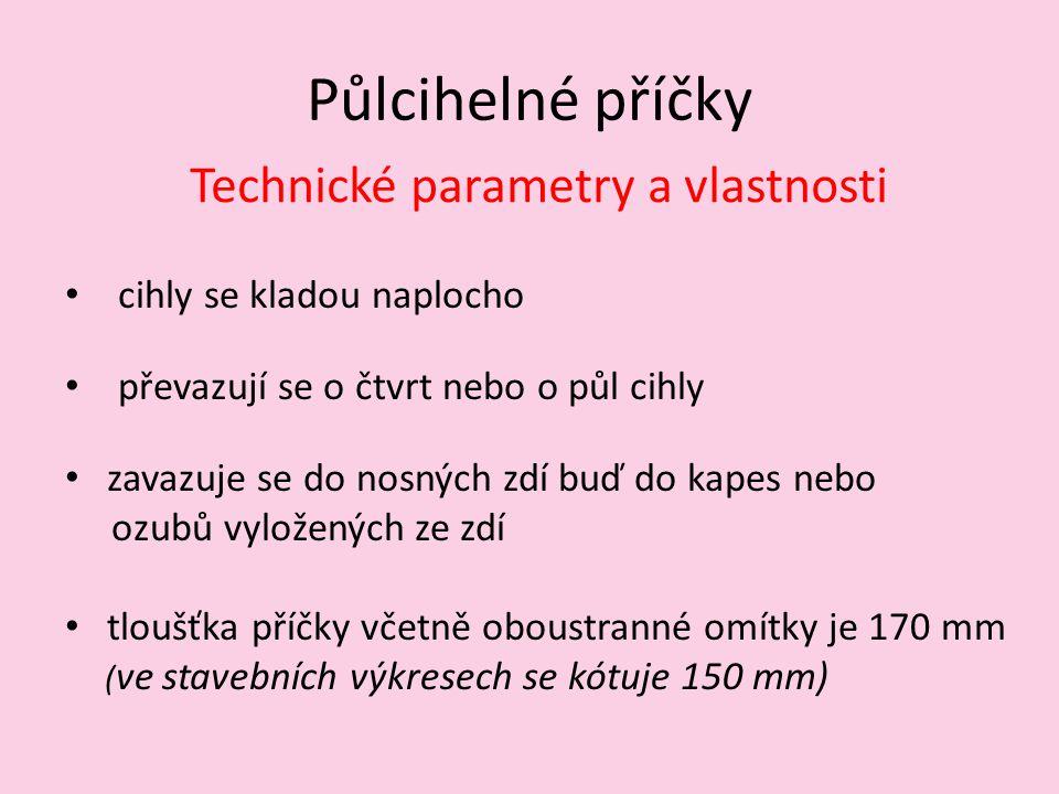Technické parametry a vlastnosti