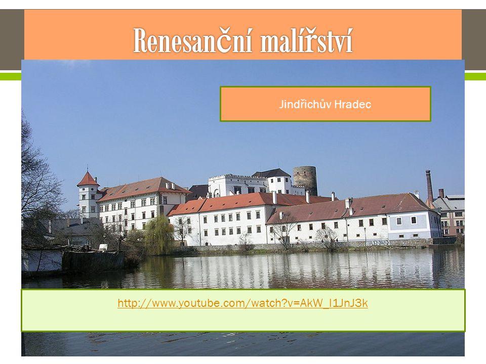 Renesanční malířství Českých zemích se šířila olejomalba , do popředí se dostává umění portrétu.