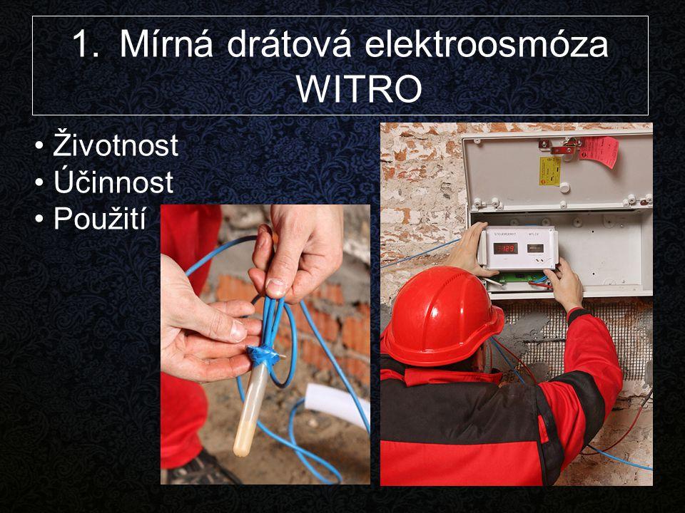 Mírná drátová elektroosmóza WITRO