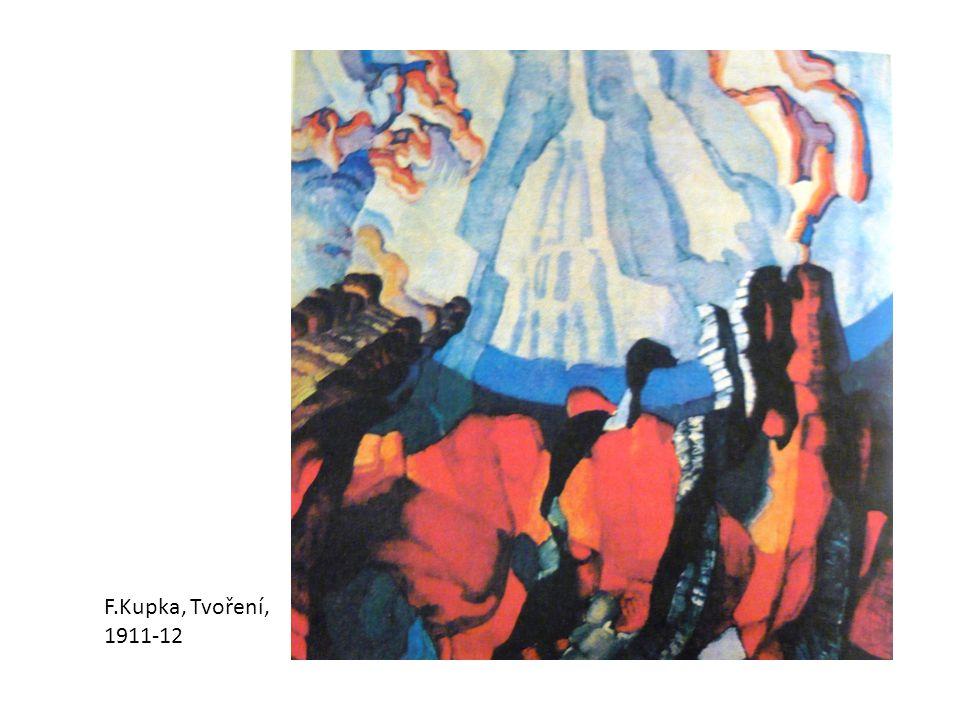 F.Kupka, Tvoření, 1911-12