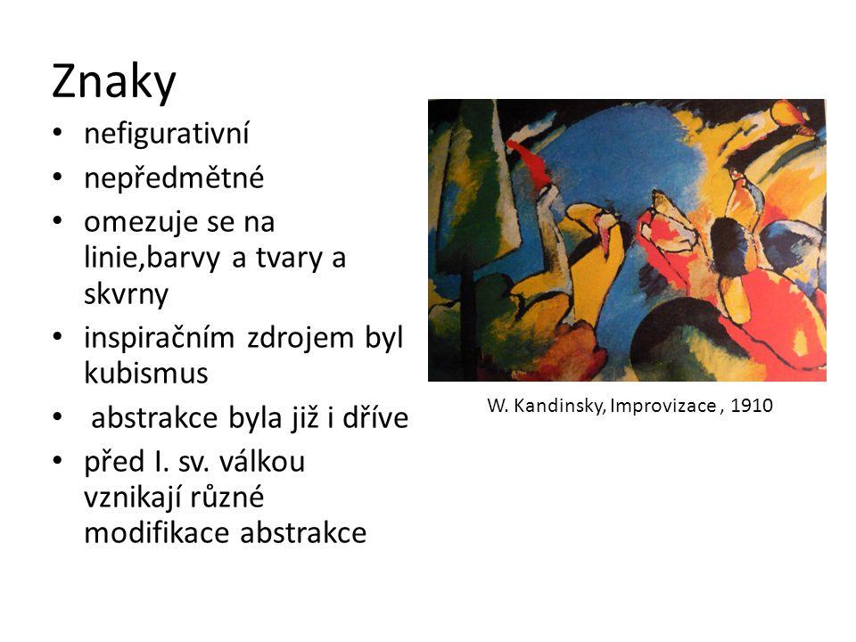 W. Kandinsky, Improvizace , 1910