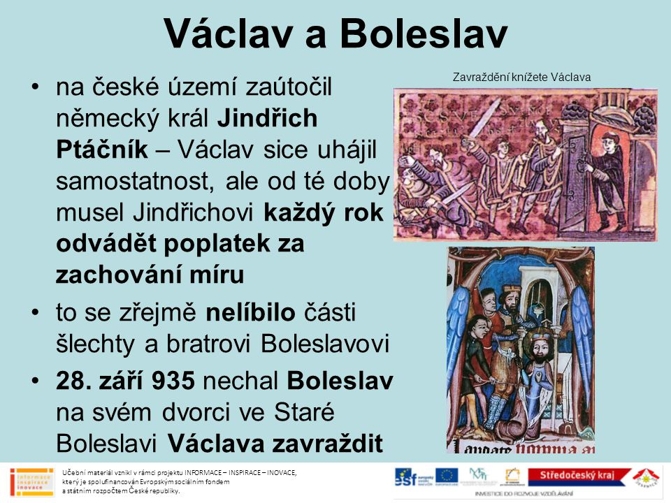 Václav a Boleslav