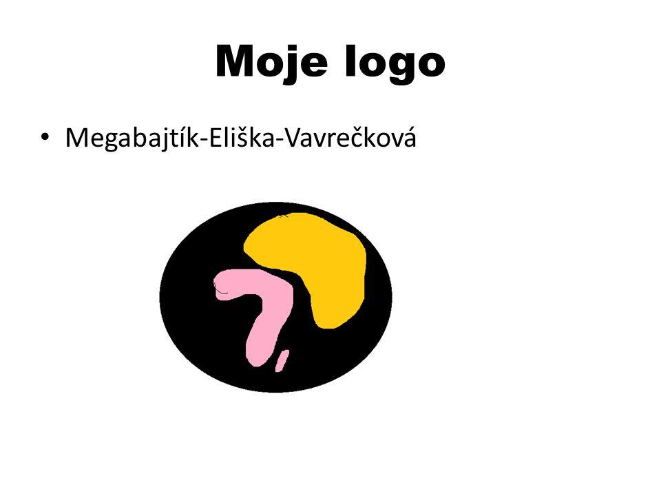 Moje logo Megabajtík-Eliška-Vavrečková