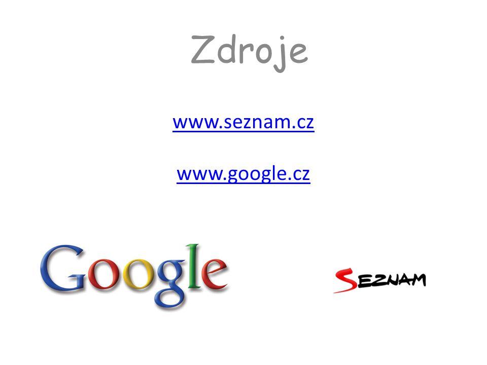 www.seznam.cz www.google.cz