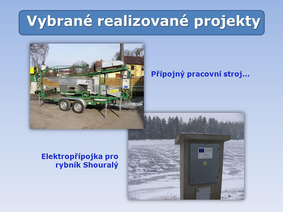 Vybrané realizované projekty