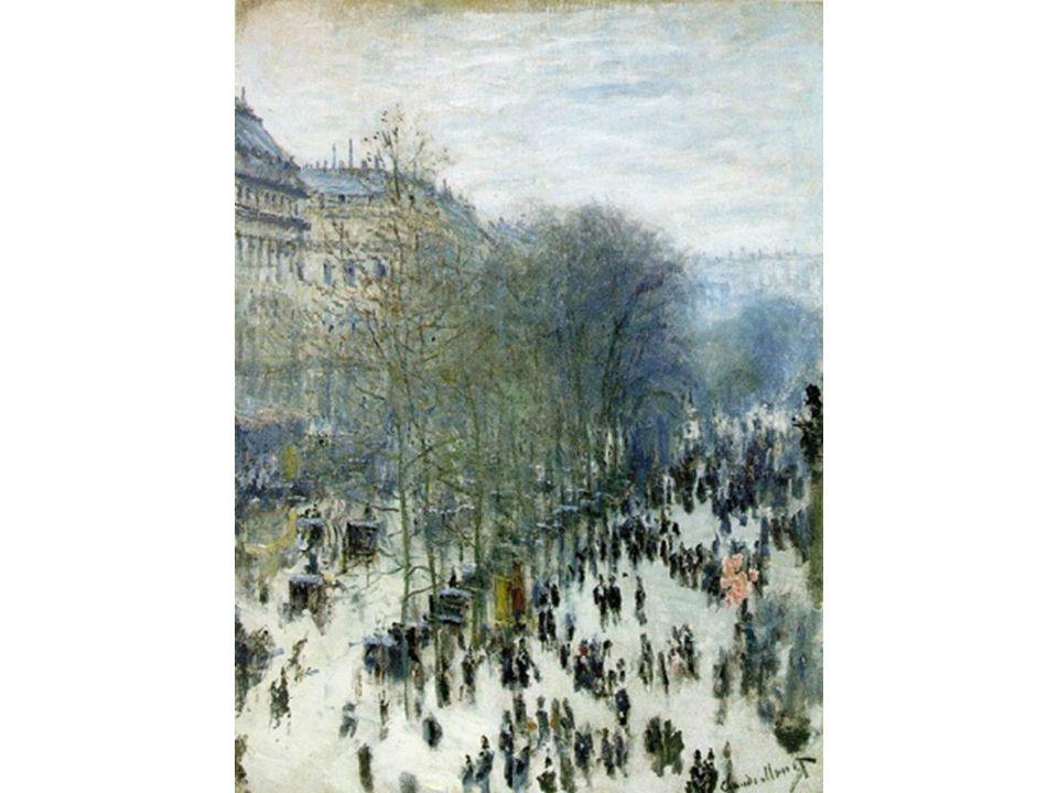 Bulvár Kapucínů v Paříži