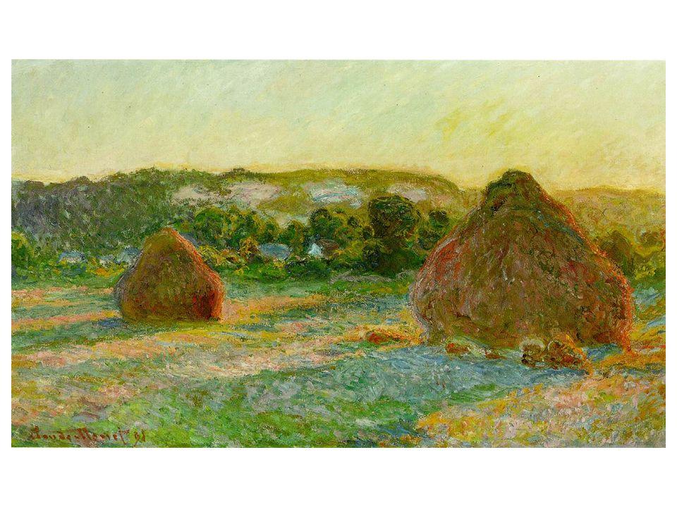 Pšeničné kupky na konci léta
